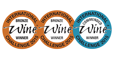 Medal success at the International Wine Challenge 2015
