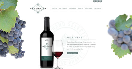 Our new website at carmelitawine.com has now gone live