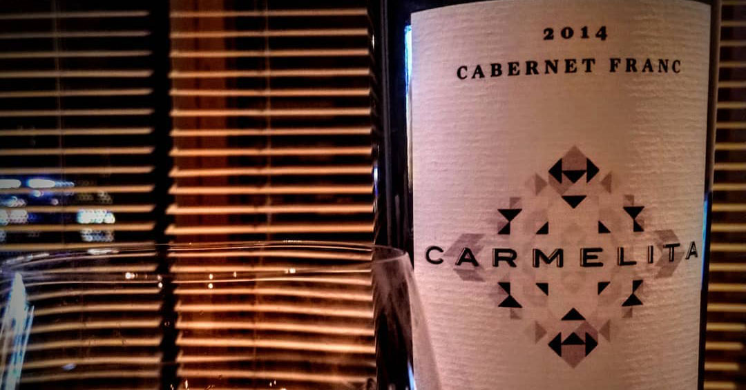 London launch! Meet Carmelita Cabernet Franc 2014